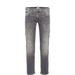 Slim Scanton Falcon Grey Stretch Jeans