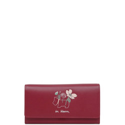 In Bloom Large Flapover Matinee Wallet