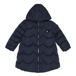 A-Line Quilted Coat