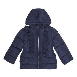 Frill Front Coat