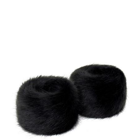 Faux Fur Wrist Warmers