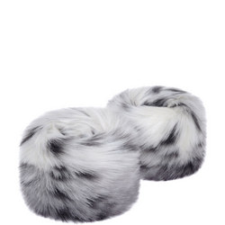Faux Fur Wrist Warmers