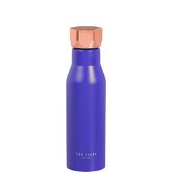Water Bottle Hexagonal Lid Electric Blue Sapphire