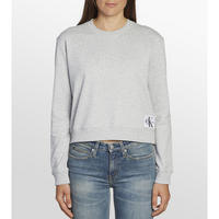 Box Fit Cropped Sweat Top