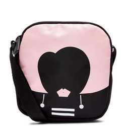 Heart Face Small Lizzie Crossbody Bag