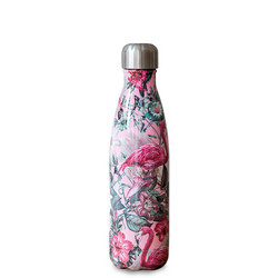 Stainless Steel Water Bottle Tropical Flamingo