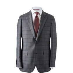 Overcheck Prince Of Wales Suit Jacket