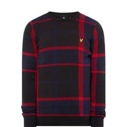 Tartan Crew Neck Sweater