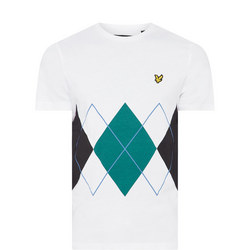 Argyle Crew Neck T-Shirt