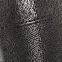 Faux Pebbled Leather Leggings