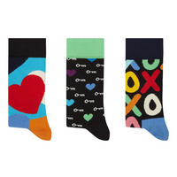 Three-Pack Romantic Socks