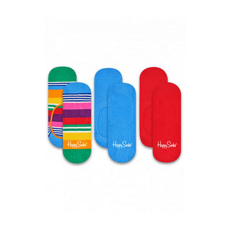 Three-Pack Stripe Liner Socks