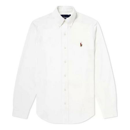 Slim Fit Knit Oxford Shirt