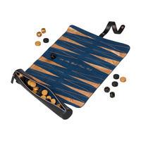 Brogue Backgammon Roll