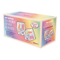 Bar Bespoke Diamond Glasses Lustre Finish 2pk