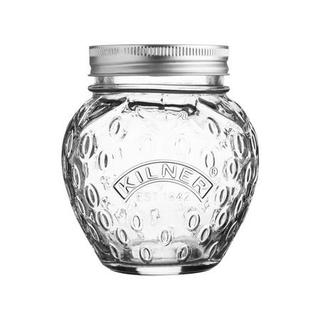 Strawberry Fruit Preserve Jar 0.4 Litre