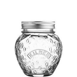 Strawberry Fruit Preserve Jar 0.4 Litre