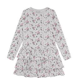 Floral Pattern Tutu Dress