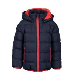 Fleeced Puffer Jacket