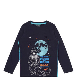 To The Moon And Back Glow In Dark T-Shirt