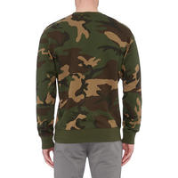 College Camouflage Sweat Top