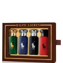 'The World Of Polo' Miniature Men'S Aftershave Gift Set