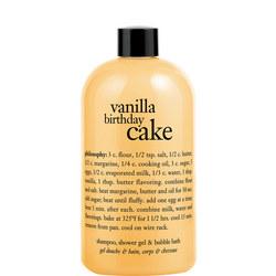Vanilla Birthday Cake Shower Gel