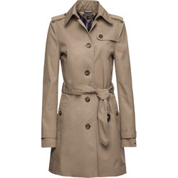 Regular Fit Trench Coat