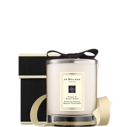 Peony & Blush Suede Travel Candle