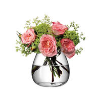 Flower Table Bouquet Vase Clear