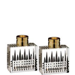 Lismore Diamond Candlestick Pair