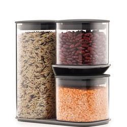 Podium Jar Set and Stand 3 Piece