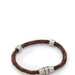 Block Two-Tone Woven Bracelet