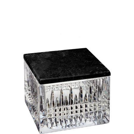Lismore Diamond Box with Marble Lid