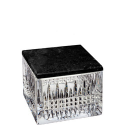 Lismore Diamond Box with Marble Lid