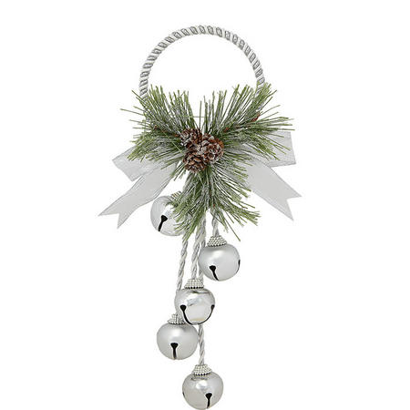 Wreath With Bells Tree Decoration
