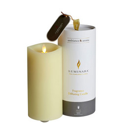Luminara Fragrance Diffusing Wax Pillar Candle