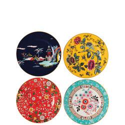 Wonderlust Plates 20cm - Set of 4