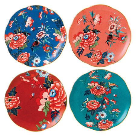 Paeonia Blush Plate 20cm Set of Four