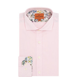 Floral Lined Oxford Shirt