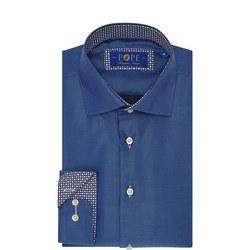 Printed Trim Formal Shirt