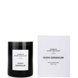 Oudh Geranium Luxury Candle 70g