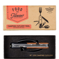 Gentlemen's Hardware Camping Cutlery Tool