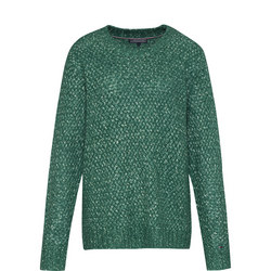 Woven Knitted Jumper