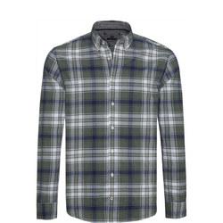 Checked Herringbone Shirt