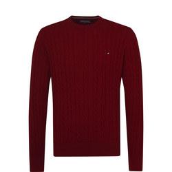Classic Cotton Blend Sweater