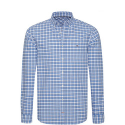 Engineered Checked Oxford Shirt