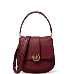 Lillie Whipstitch Shoulder Bag