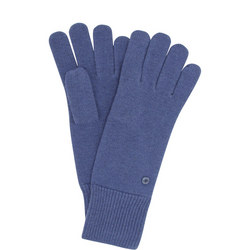 Virgin Wool Knitted Gloves