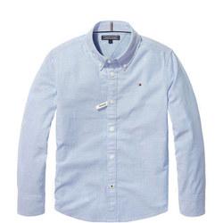 Boys Stretch Oxford Shirt